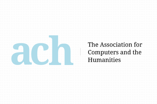 Association for Computers and the Humanities (ACH) [logo]